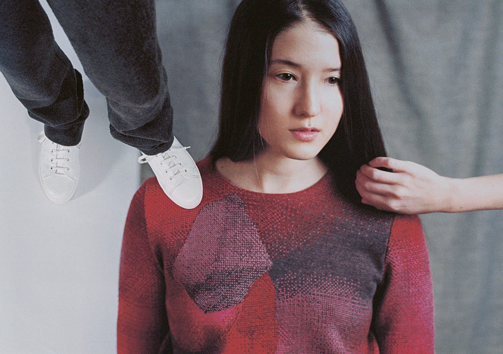 Shoot knitted apparel 01 sweater comet