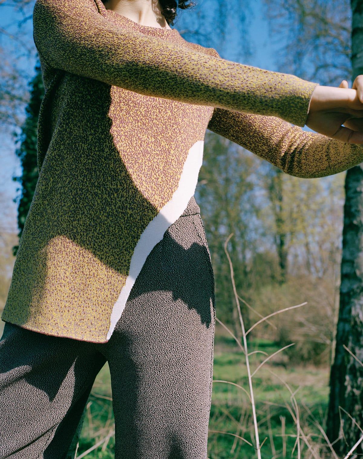 Shoot knitted apparel 02 tunika