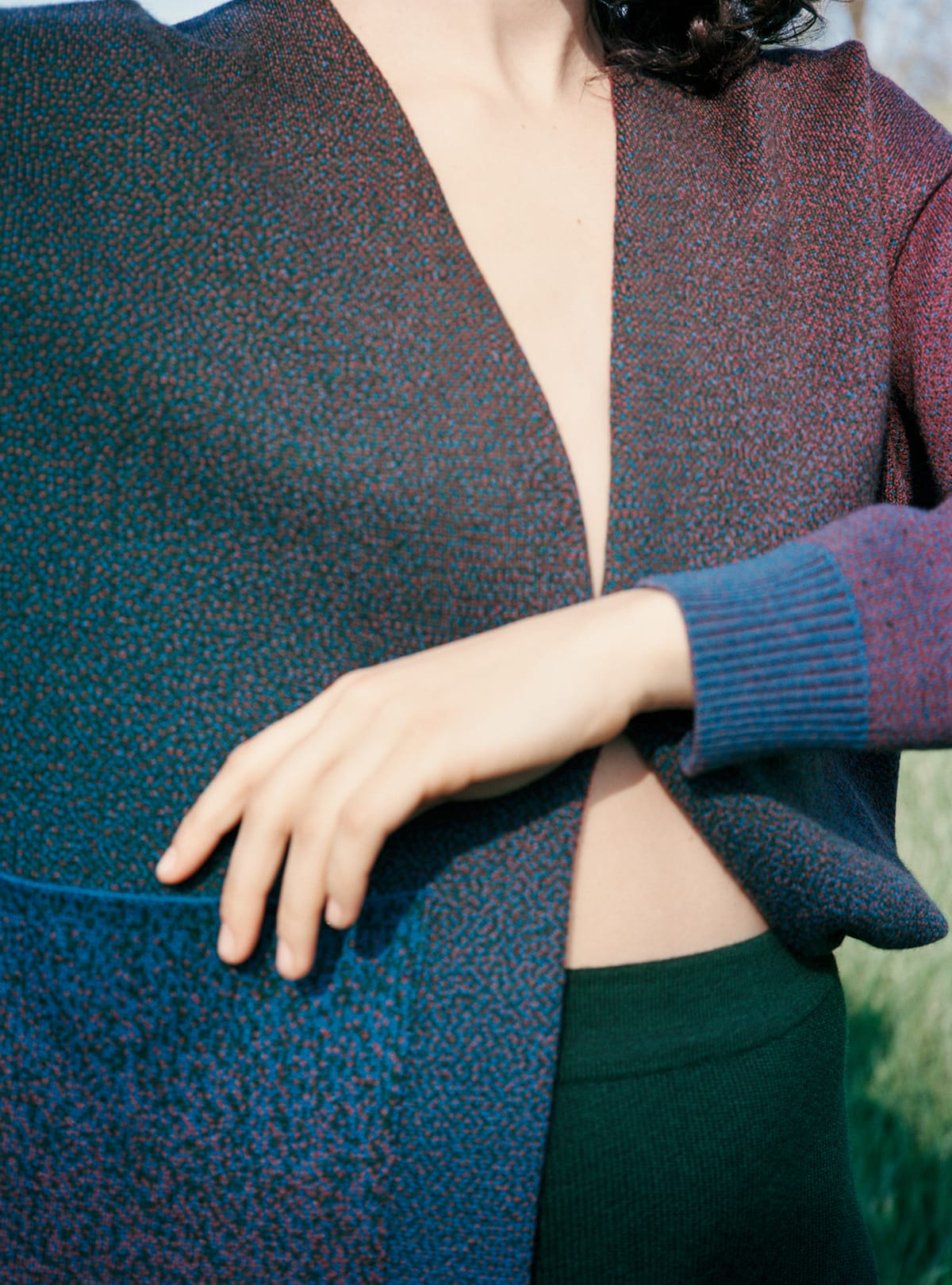 Shoot knitted apparel 02 cardigan 4