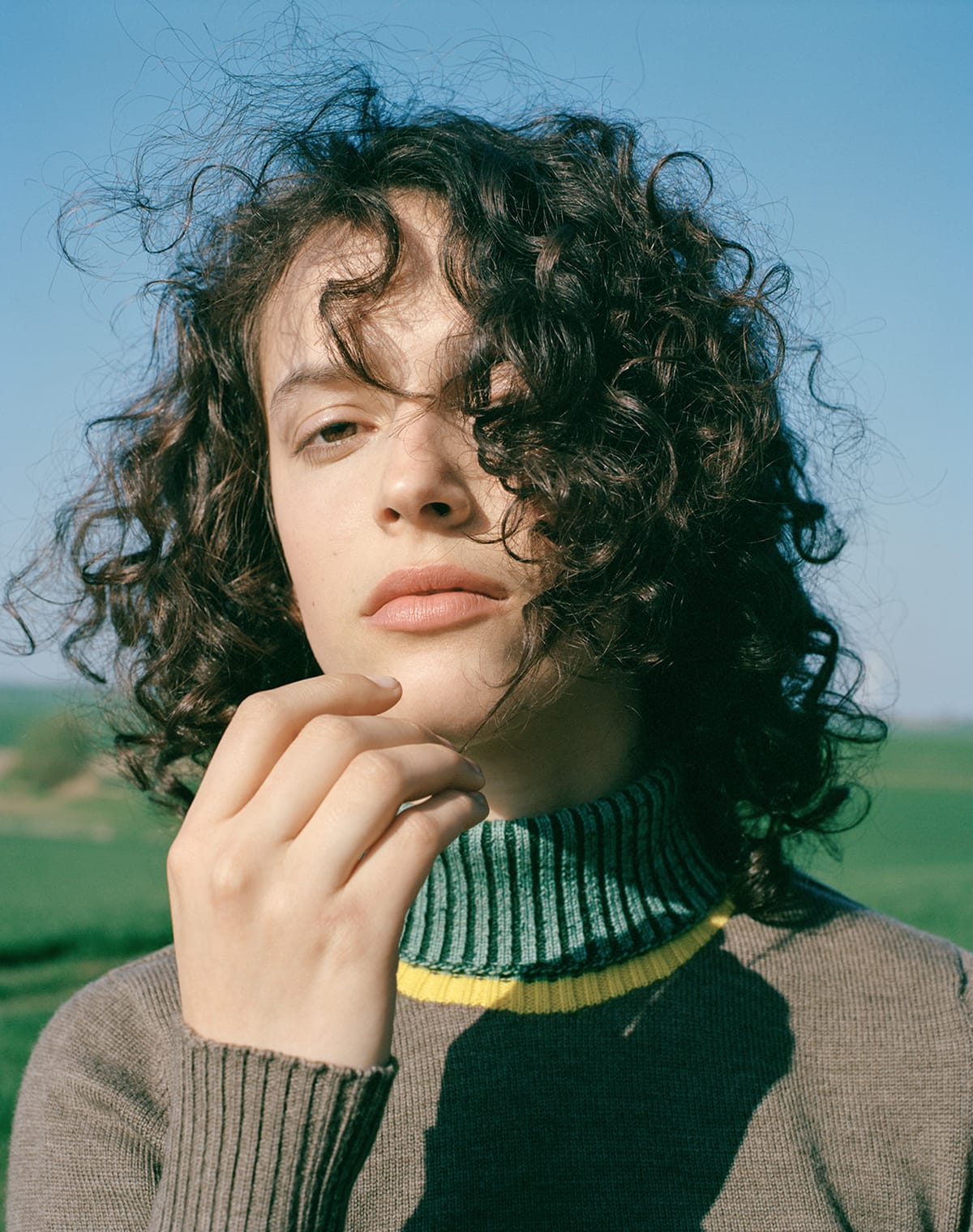 Shoot knitted apparel 02 turtleneck