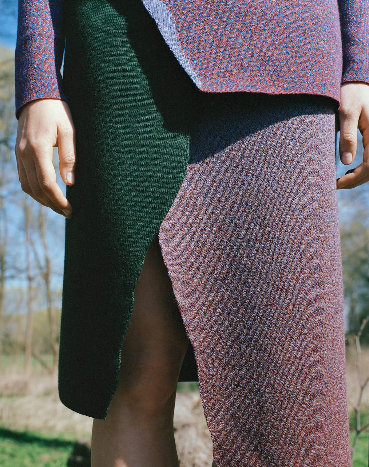 Shoot knitted apparel 02 skirt