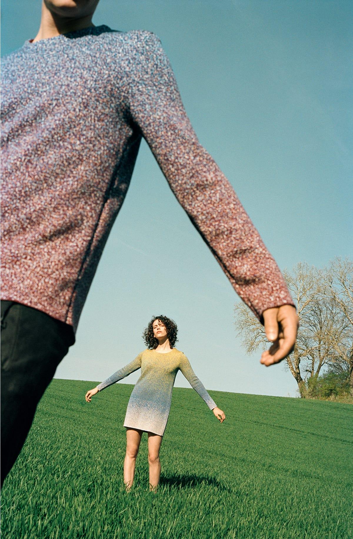 Shoot knitted apparel 02 dress