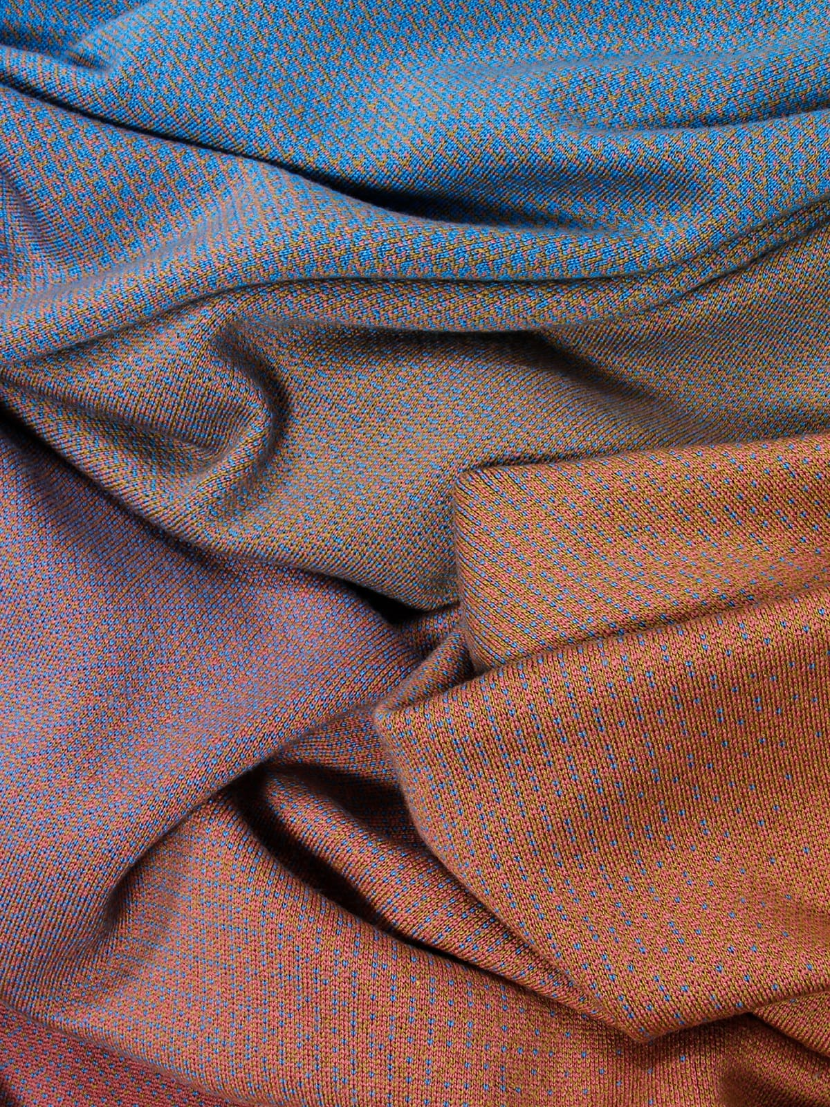 Knitted Blanket Lucca - Merino Wool detail