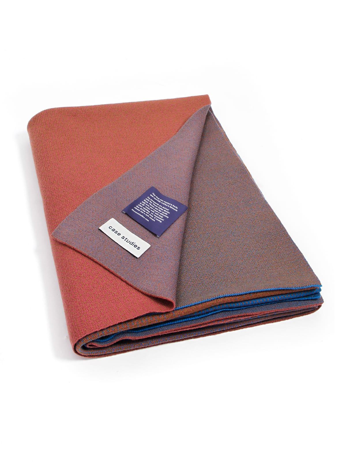 Knitted Blanket Lucca - Merino Wool folded