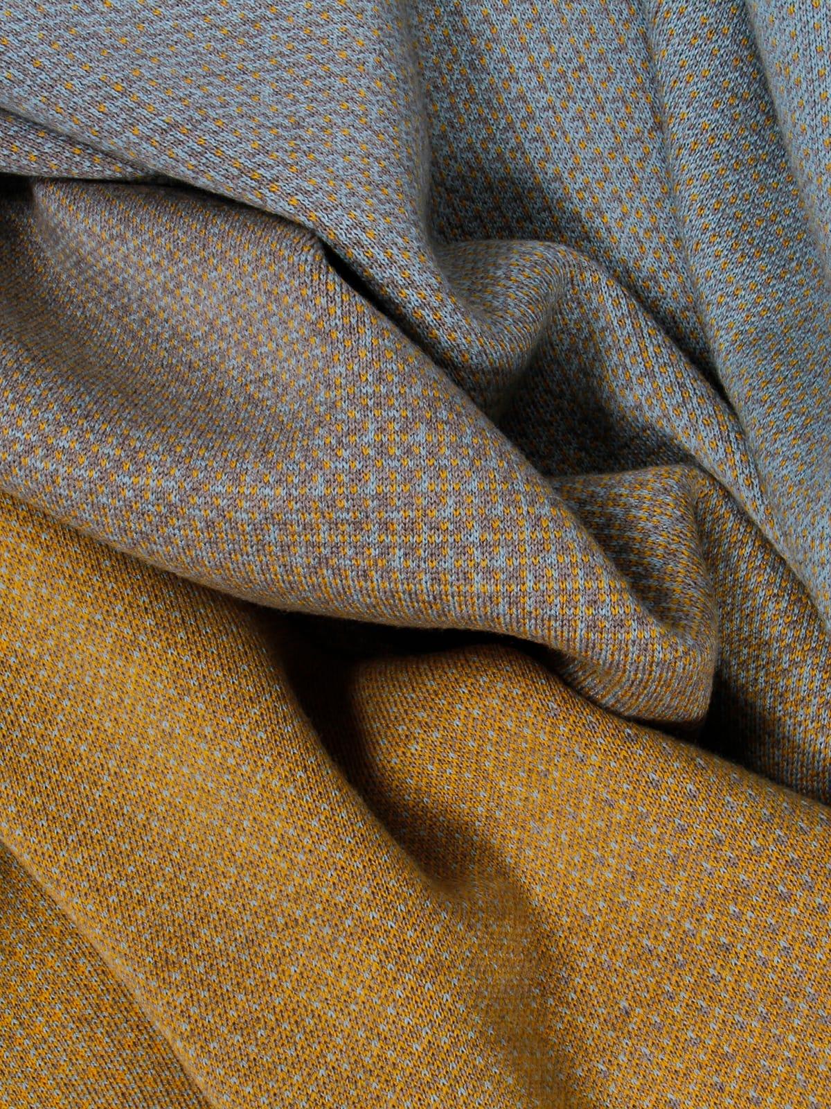 Knitted Blanket Lucca - Merino Wool details