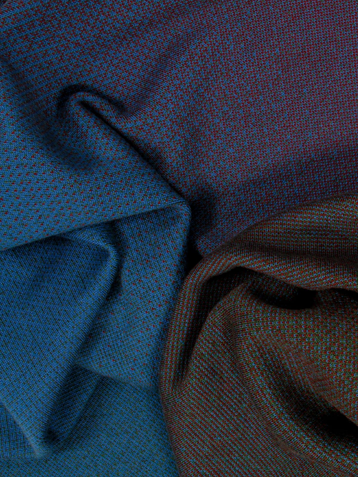 Knitted Blanket Venice - Merino Wool details