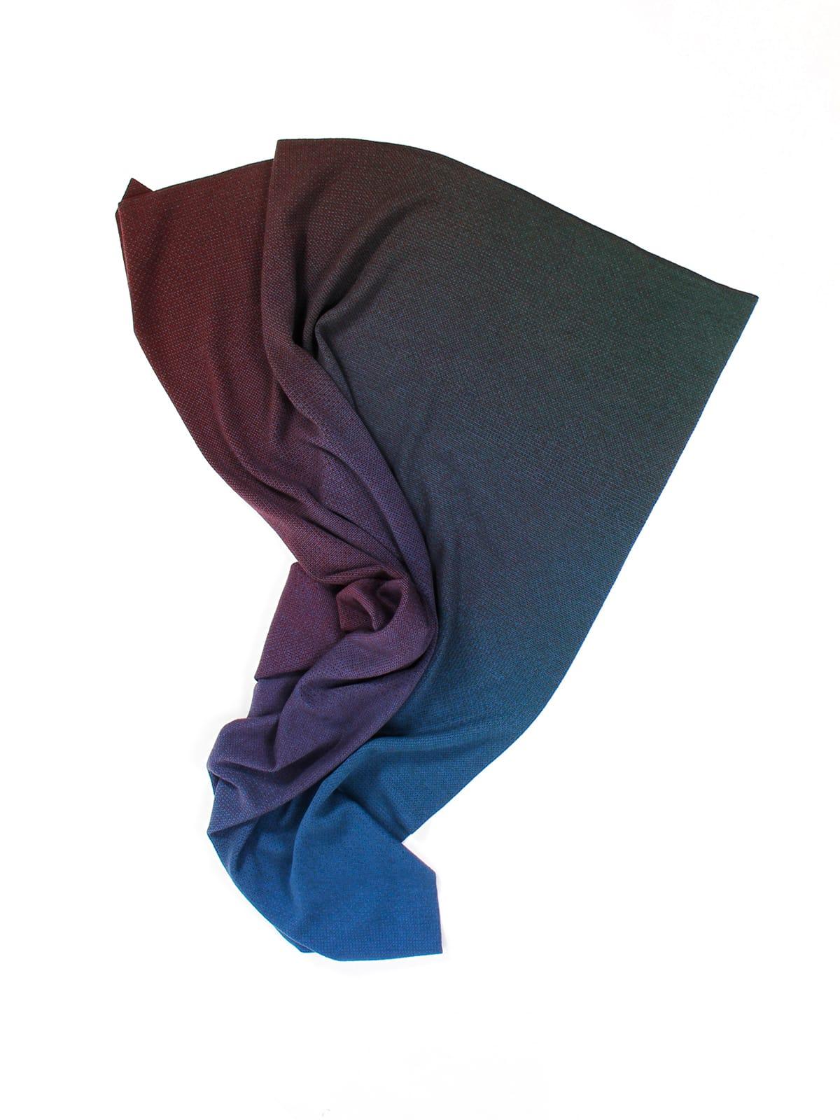 Knitted Blanket Venice - Merino Wool draped