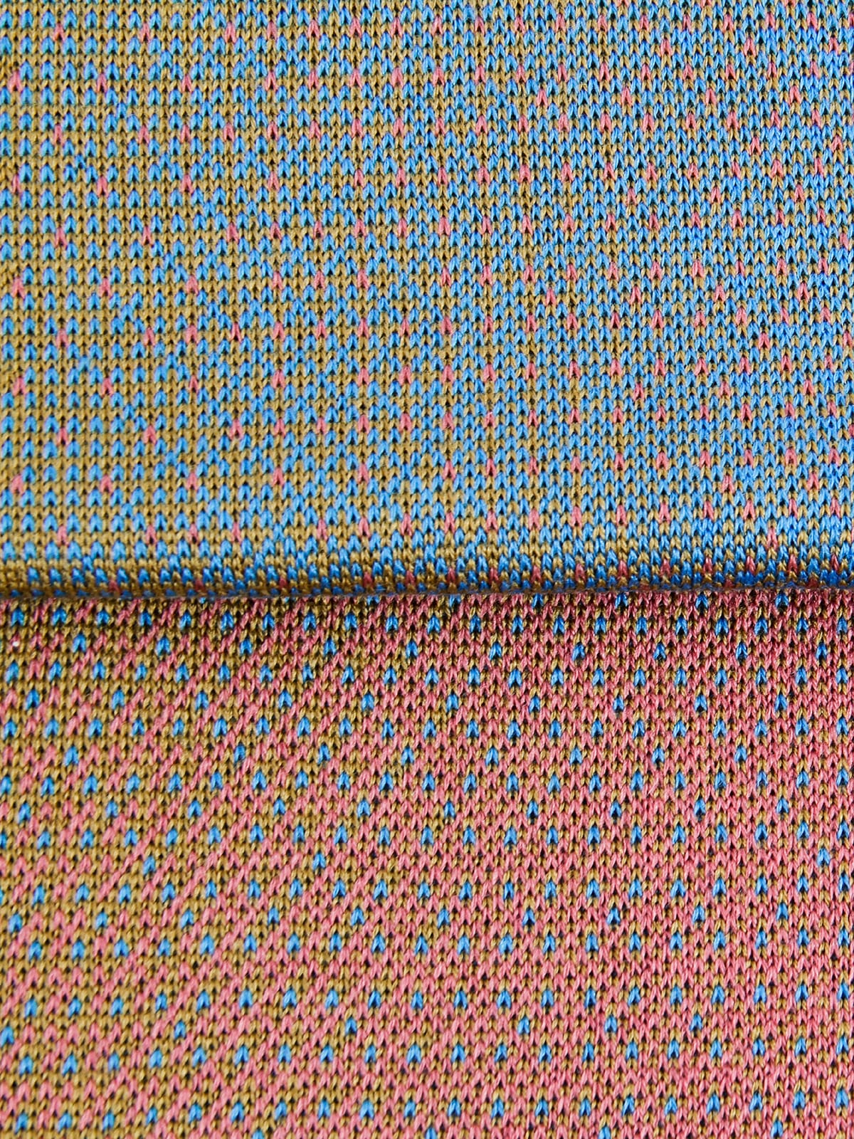 Knitted Scarf Lucca - Merino Wool detail
