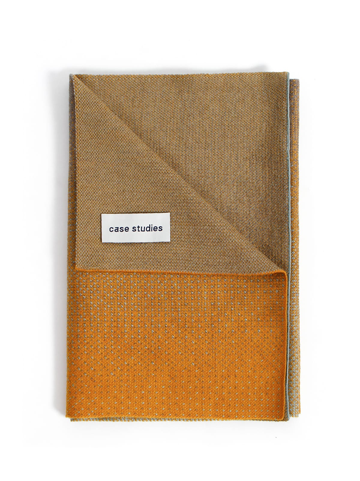 Knitted Scarf Rabat - Merino Wool folded