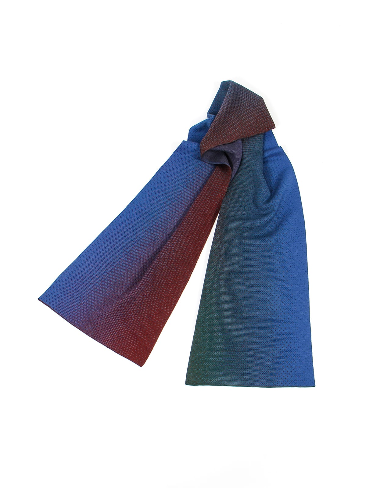 Knitted Scarf Venice - Merino Wool draped