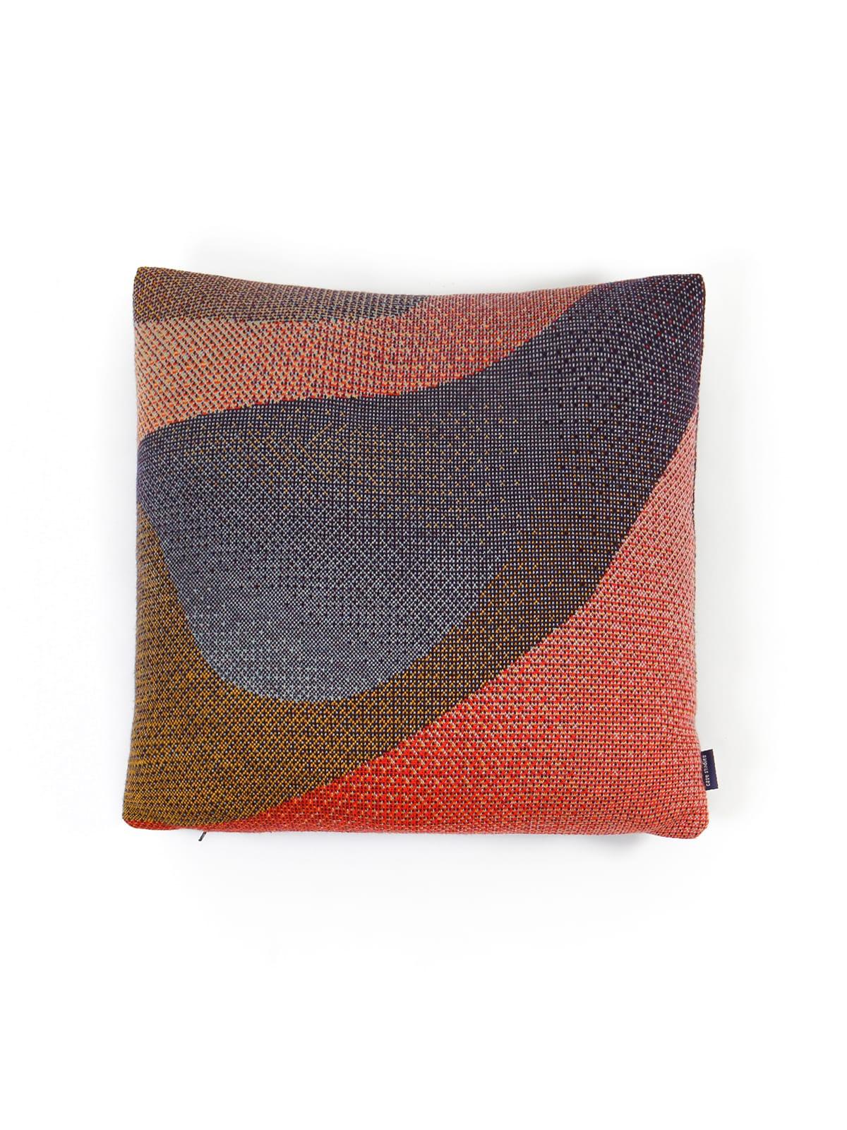 Knitted Cushion 50x50 Musselshell No2 - Merino Wool