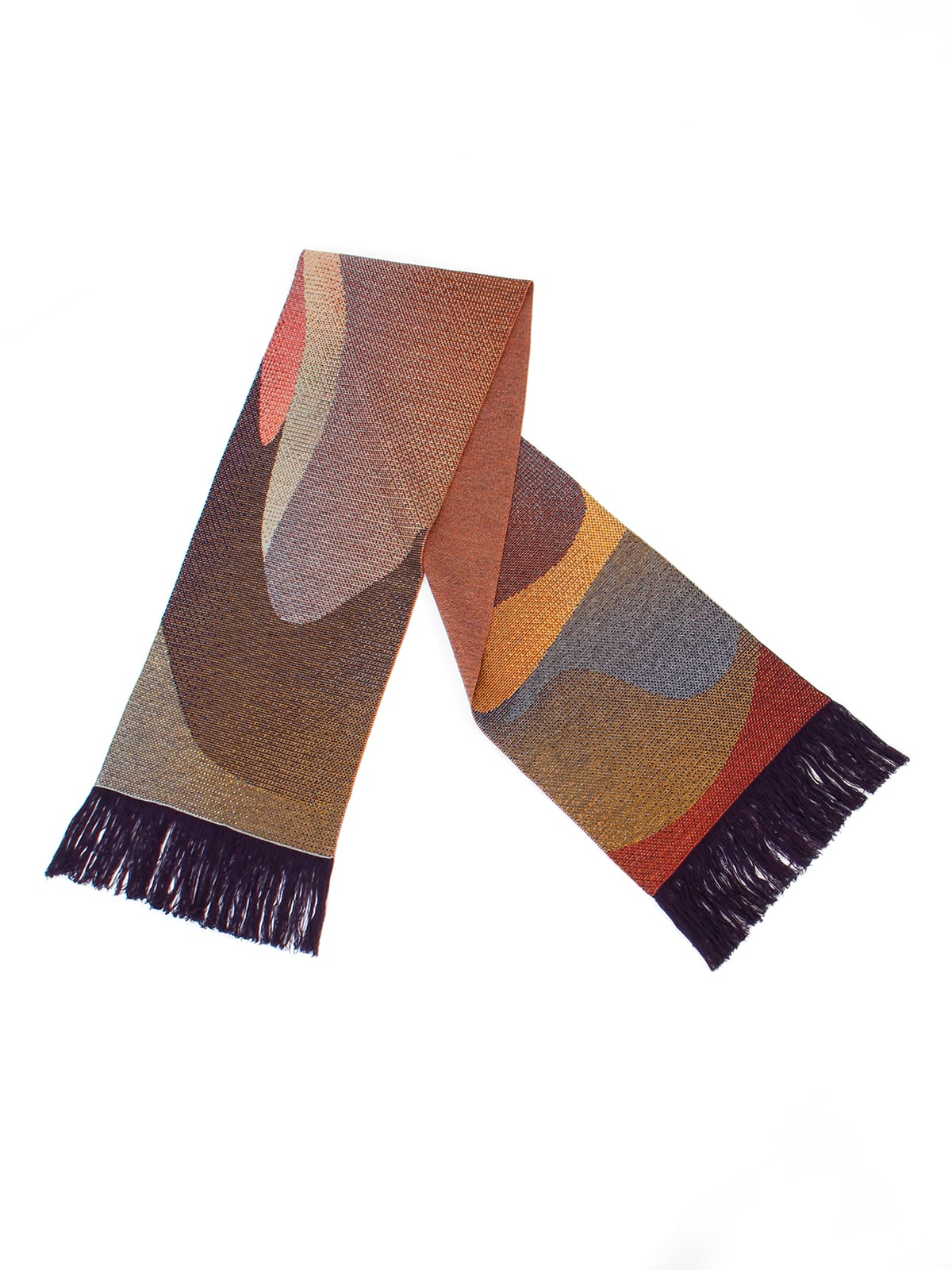 Knitted Scarf Musselshell - Merino Wool