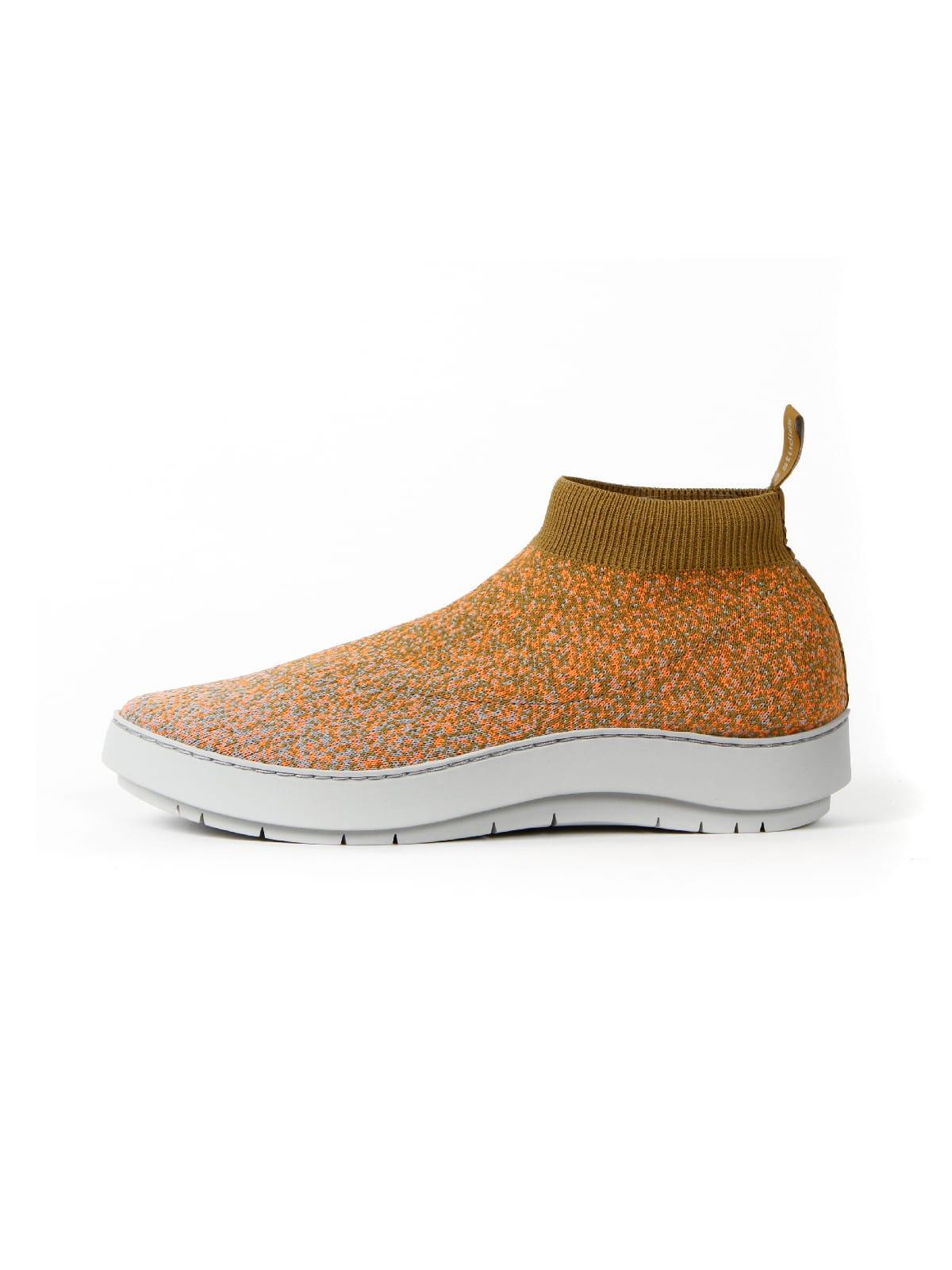 3D knitted sockboot Spexx papaya links
