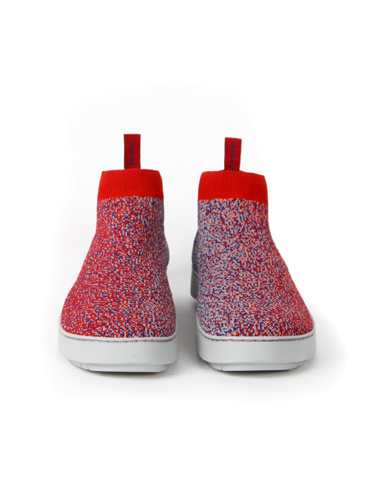 3D knitted sockboot Spexx Poppy vorne